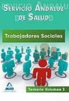 Inmaswan.es Trabajadores Sociales Del Servicio Andaluz De Salud. Temario. Vol Umen Iii Image