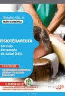 Permacultivo.es Fisioterapeuta. Servicio Extremeño De Salud. Temario Especifico. Vol. Iii Image