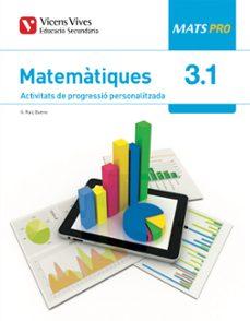 Upgrade6a.es Matemàtiques 3º Eso Mats Pro Activitats De Progressió Personalizada Llibre 1,2 I 3 Catala Image