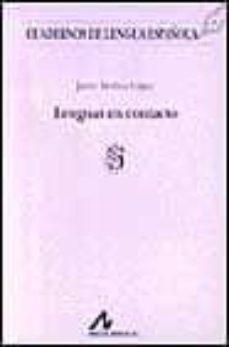 lenguas en contacto-javier medina lopez-9788476352779