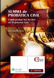 summa de probática civil (ebook)-luis muñoz sabate-9788481269079