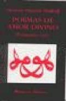 Descargar mp3 gratis libros POEMAS DE AMOR DIVINO: POEMARIO SUFI 9788485639779