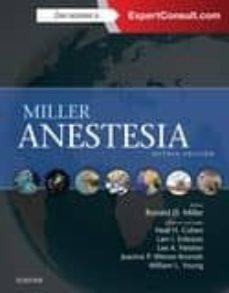 Descargar libros de epub de Google MILLER ANESTESIA (8ª ED.) RTF CHM ePub de R.D. MILLER 9788490229279