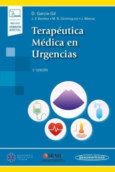 Epub ebooks para descargar TERAPÉUTICA MÉDICA EN URGENCIAS 5ª EDICION FB2 de DANIEL GARCIA GIL 9788491106579