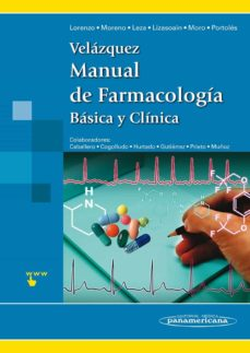 Ebooks uk descarga gratis VELAZQUEZ. MANUAL DE FARMACOLOGIA BASICA Y CLINICA DJVU iBook FB2 9788498354379