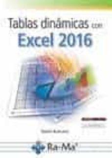 tablas dinamicas con excel 2016-daniel burrueco-9788499646879