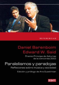 paralelismos y paradojas (ebook)-edward w. said-daniel barenboim-9788499920979