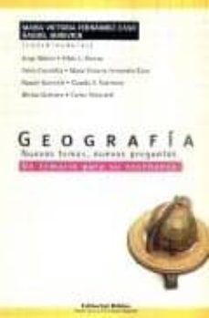 Javiercoterillo.es Geografia: Nuevos Temas, Nuevas Preguntas Image