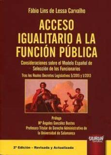 Permacultivo.es Acceso Igualitario A La Funcion Publica: Consideraciones Sobre El Modelo Español De Seleccion De Los Funcionarios. Tras Los Realesdecretos Legislativos 5/2015 Y 1/2013 Image