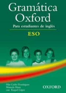 Amazon kindle descargar libros de audio GRAMATICA OXFORD PARA ESTUDIANTES DE INGLES (ESO) PDF MOBI de  9780194309189 en español