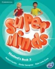 Descarga de libros de dominio público SUPER MINDS 3 STUDENT S DVD-ROM in Spanish