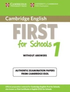 Enmarchaporlobasico.es Cambridge English First For Schools 1 Upper-intermediate Cef Leve L 2 Image