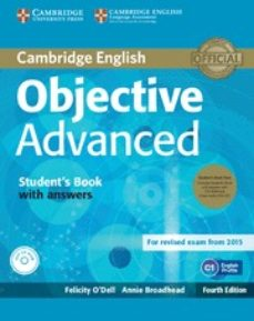 objective advanced student s book pack (student s book with answers with cd-rom and class audio cds (2)) 4th edition-9781107691889