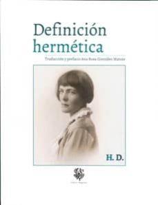 Descargar libros electrónicos desde Dropbox DEFINICION HERMETICA. H.D. (BILINGÜE) in Spanish