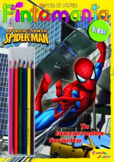 Inmaswan.es Spiderman: Pintamania Lapices De Colores. Tu Lanzarredes Favorito Image