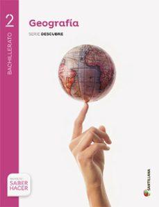 Resultado de imagen de libro geografia 2 bachillerato santillana