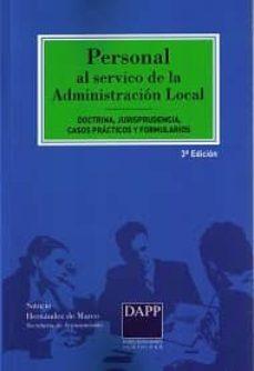 Mrnice.mx Personal Al Servicio De La Administracion Local: Doctrina, Jurisprudencia, Casos Practicos Y Formularios Image