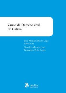 curso de derecho civil de galicia-jose manuel busto lago-9788415690689