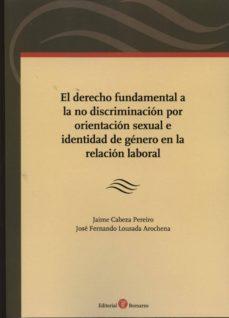 Valentifaineros20015.es Derecho Fundamental A La No Discriminación Por Orientación Sexual E Identidad De Género En La Relación Laboral Image