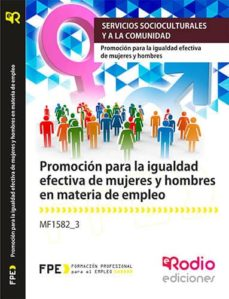 Asdmolveno.it Mf1582_3 Promocion Para La Igualdad Efectiva De Mujeres Y Hombres En Materia De Empleo Image