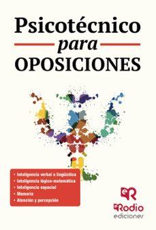 psicotecnico para oposiciones-9788416963089
