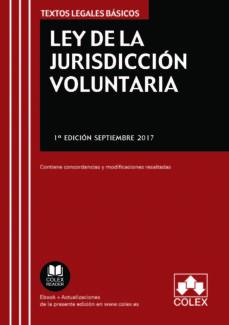 ley de la jurisdicción voluntaria-9788417135089