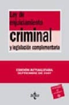 Emprende2020.es Ley De Enjuiciamiento Criminal (22ª Ed.) Image