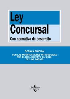 Trailab.it Ley Concursal: Con Normativa De Desarrollo (9ª Ed.) Image