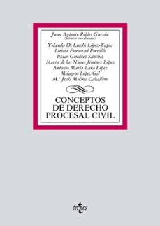 Permacultivo.es Conceptos De Derecho Procesal Civil Image