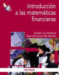 introducción a las matemáticas financieras (ebook)-salvador cruz rambaud-maria del carmen valls martinez-9788436830989