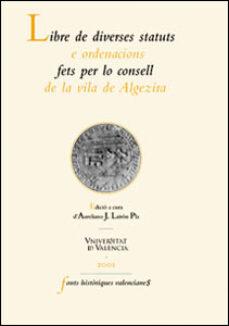 Emprende2020.es Llibre De Diverses Statuts E Ordenacions: Fet Per Lo Consell De La Villa D´algezira Image