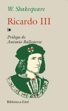ricardo iii-william shakespeare-9788441402089
