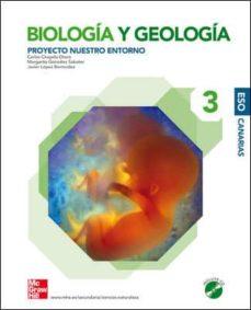 Colorroad.es Biología Y Geología. 3º Eso. Nuestro Entorno. (Canarias) Image