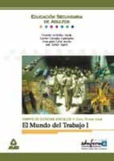 Viamistica.es El Mundo Del Trabajo (T. I): Campo De Ciencias Sociales, Ii Ciclo . 1er Nivel, Comunidad Valenciana Image