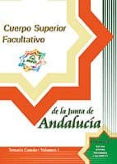 Inmaswan.es Cuerpo Superior Facultativo De La Junta De Andalucia: Temario (Vo L. I) Image