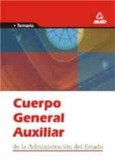 Titantitan.mx Cuerpo General Auxiliar De La Administracion Del Estado: Temario Image