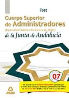 Inmaswan.es Cuerpo Superior De Administradores De La Junta De Andalucia. Especialidad Administradores De Gestion Financiera: Test Image