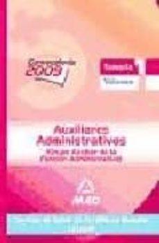 Inmaswan.es Auxiliares Administrativos Del Servicio De Salud De Castilla-la M Ancha (Sescam). Temario. Volumen I Image