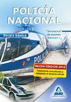 Mrnice.mx Escala Basica De Policia Nacional. Simulacros De Examen. Volumen I Image