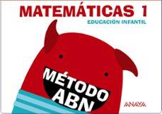 matemáticas abn 1. educación infantil 3 años (cuadernos 1 y 2)-9788467832389