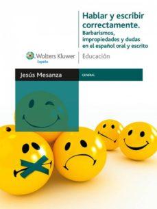 hablar y escribir correctamente (ebook)-jesus mesanza lopez-9788471979889