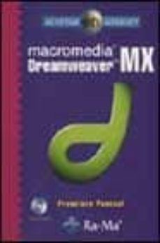 macromedia dreamweaver mx (incluye cd-rom)-francisco pascual-9788478975389