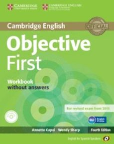objective first for spanish speakers workbook without answers with audio cd 4th edition-9788483236789