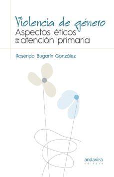 violencia de género-rosendo bugarín gonzález-9788484089889