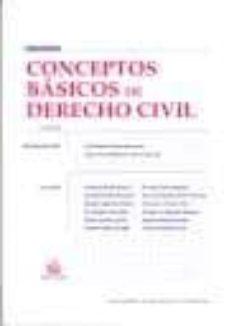 Carreracentenariometro.es Conceptos Basicos De Derecho Civil 2ª Edicion Image