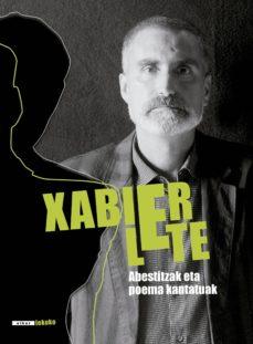 xabier lete. abestitzak eta poema kantatuak (ebook)-xabier lete-9788490274989