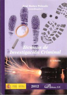 Descargar TECNICAS INVESTIGACION CRIMINAL gratis pdf - leer online