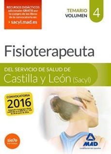 Costosdelaimpunidad.mx Fisioterapeuta Del Servicio De Salud De Castilla Y León (Sacyl). Temario Volumen 4 Image