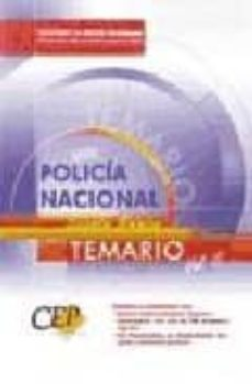 Inmaswan.es Policia Nacional: Escala Basica: Temario (Vol. Ii) Image
