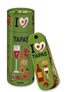 Inmaswan.es Me Encantan Las Tapas (Incluye Abanico De Recetas + 6 Platos + 10 Varillas De Bambu) Image